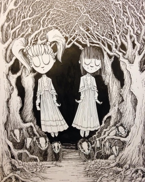 """the Miller's Daughters,"" India Ink"