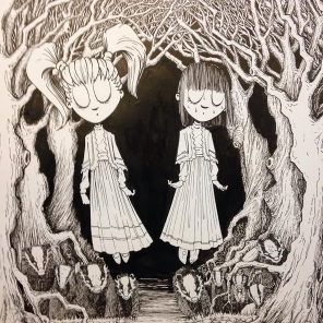 """""""the Miller's Daughters,"""" India Ink"""