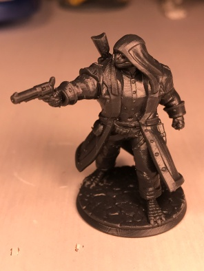 Hero Forge figure as they arrive from the company.