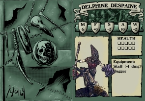 Delphine Despaine Stat Card