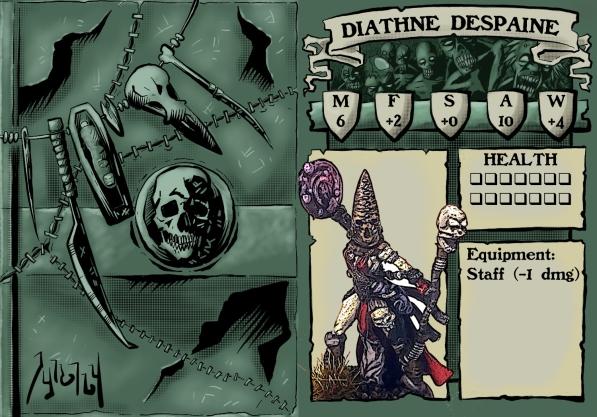 Diathne Despaine Stat Card