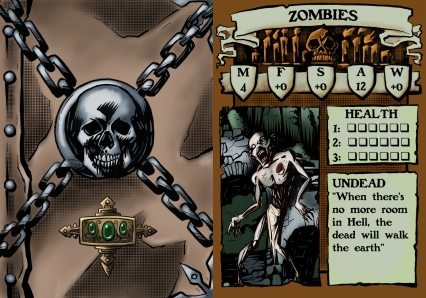 Zombie Stat Card